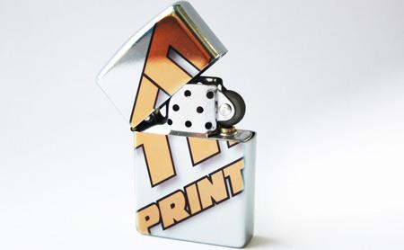 TN Print zippo